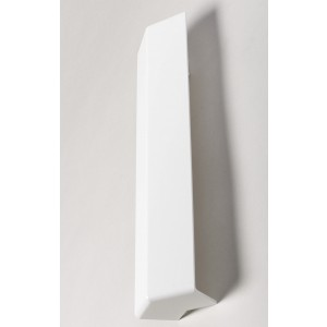 135° External 300mm Square Fascia Corner White