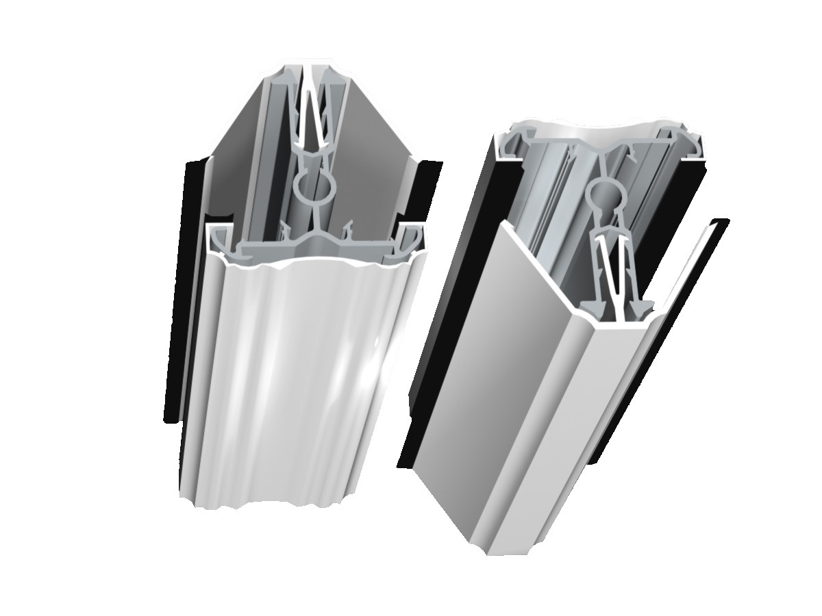 Self Support Eco Glazing Bar Self Support Roof System