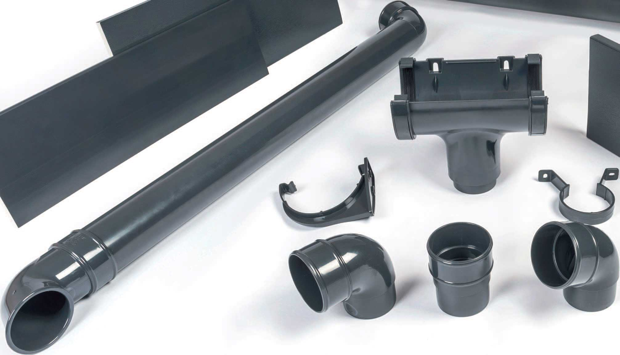 Dark Grey Gutters Amp Pipes Domestic Pvc Guttering