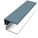 Colonial Blue Fortex Cladding Trims
