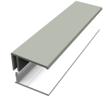 Misty Grey Fortex Cladding Trims