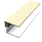 Pale Gold (Cream) Fortex Cladding Trims