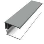 Storm Grey Fortex Cladding Trims