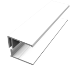 White Fortex Cladding Trims