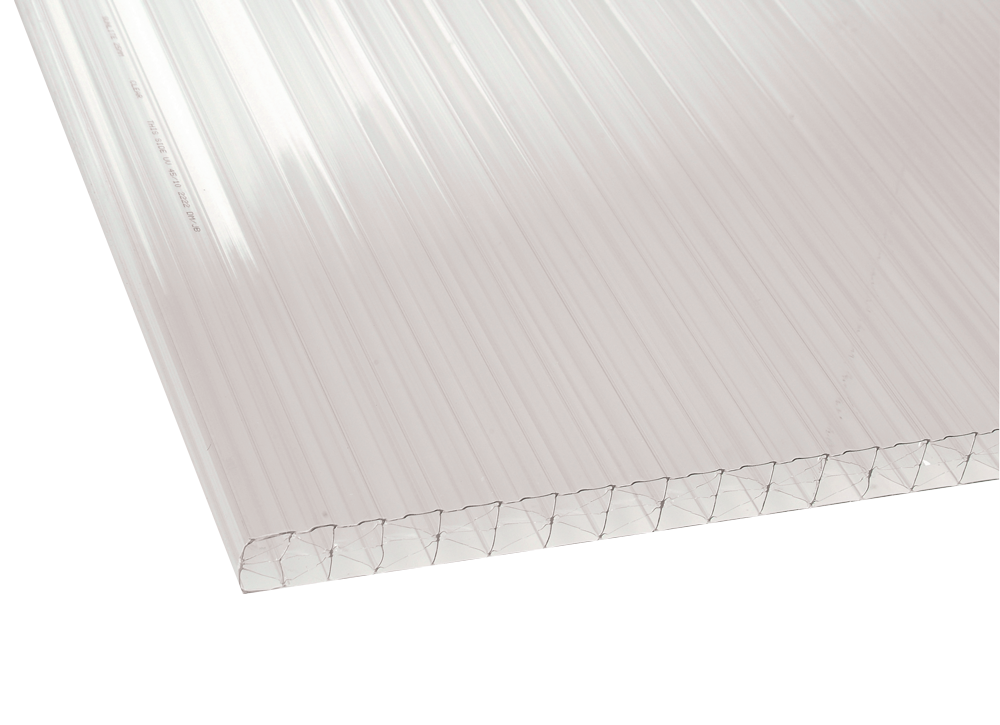 25mm Polycarbonate Clear Polycarbonate Roof Sheets