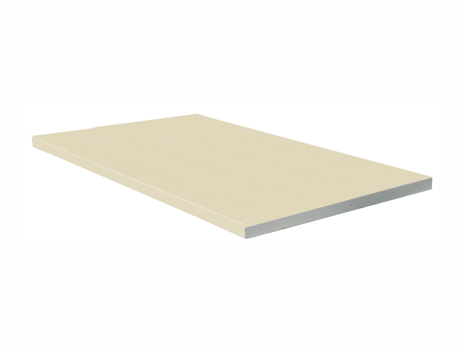 9mm Flat Soffit General Purpose Board Cream