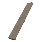 Fortex Weatherboard Butt Joint - Argyl Brown
