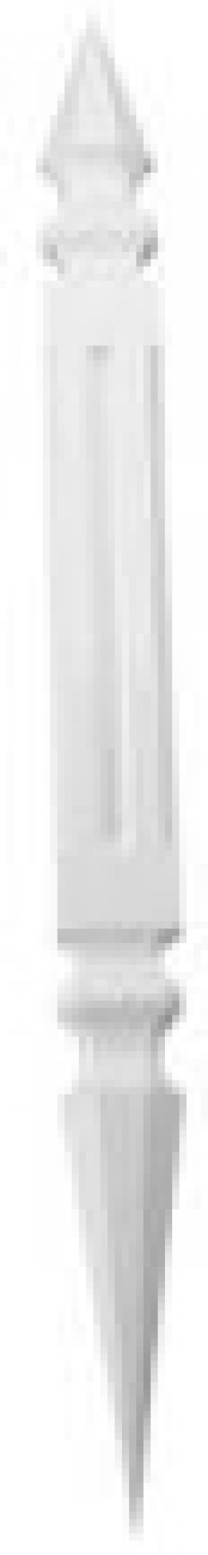 Decorative Roof Spire 3D 910mm White