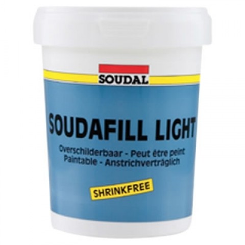 Light Weight Acrylic Filler 900ml Tub White
