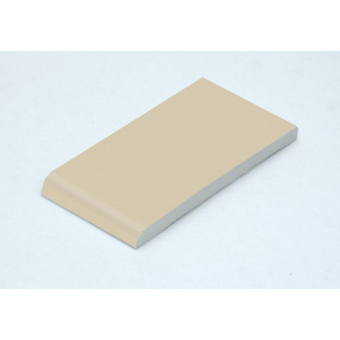 95 x 6mm Architrave Cream Woodgrain