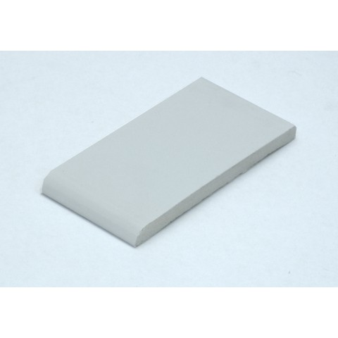 95 x 6mm Architrave White