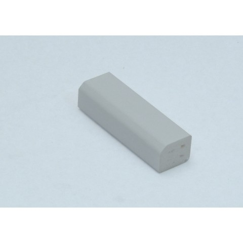 15 x 13mm Block White