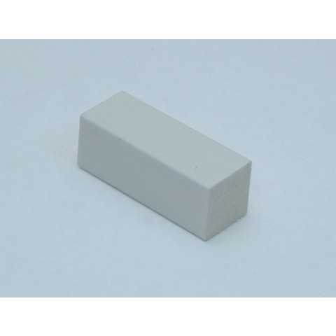 19 x 19mm Block White