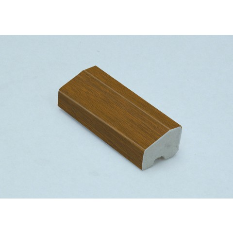 20 x 15mm Chamfered Block / Drip Trim Golden Oak