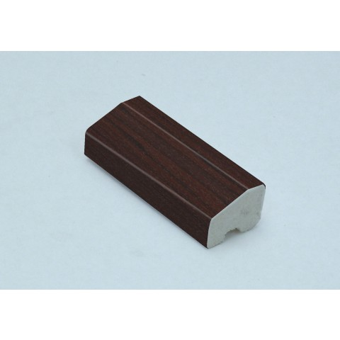 20 x 15mm Chamfered Block / Drip Trim Rosewood