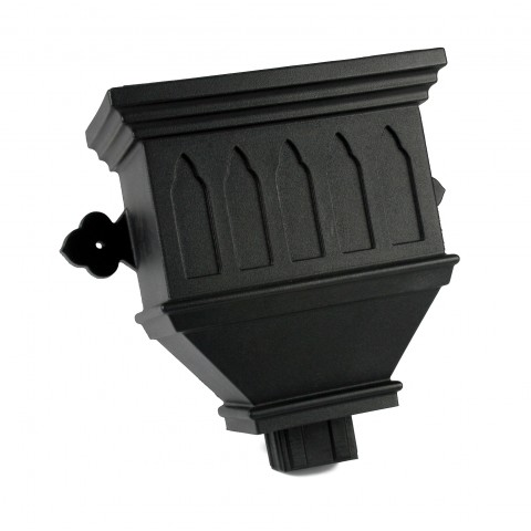 Bath Hopper 105mm Outlet Windowed