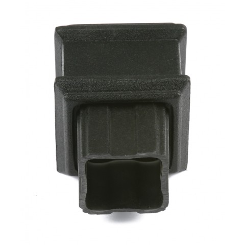 Cast Iron Style Square Downpipe Pipe Connector