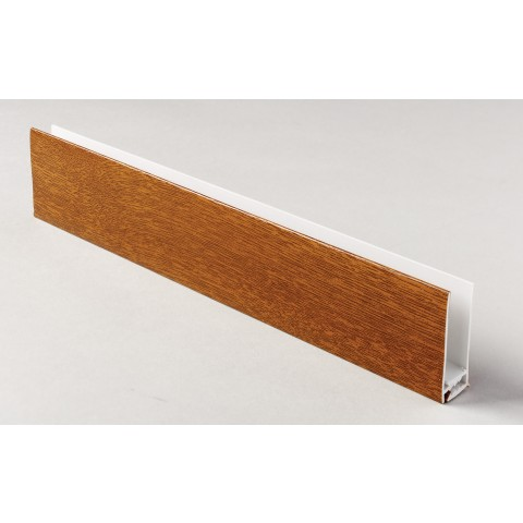 Two Part Top Trim Golden Oak 5m