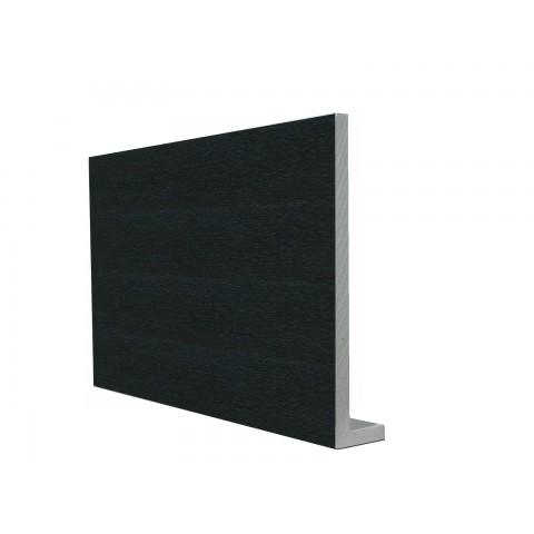 9mm Square Capping Board/Cover Fascia Black Ash