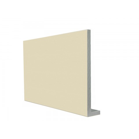 9mm Square Capping Board/Cover Fascia Cream