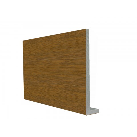 9mm Square Capping Board/Cover Fascia Golden Oak
