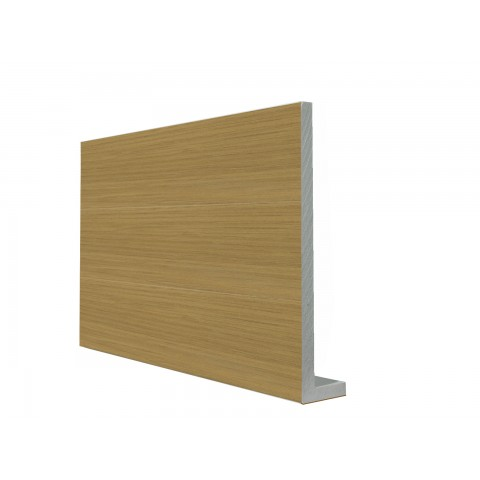 9mm Square Capping Board/Cover Fascia Irish Oak