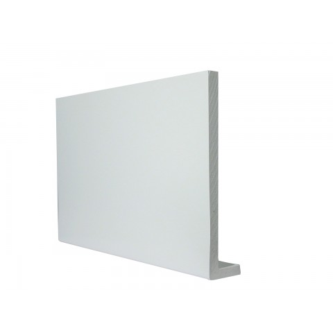 9mm Square Capping Board/Cover Fascia White