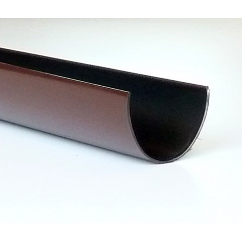 114mm Deepflow Gutter 4m Length Brown