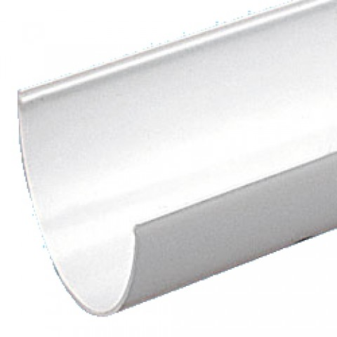 114mm Deepflow Gutter 4m Length White