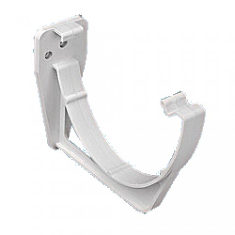 114mm Deepflow Gutter Fascia Bracket White