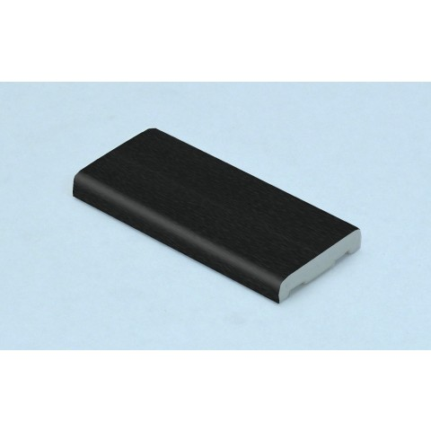 25mm x 6mm D Mould Black Ash