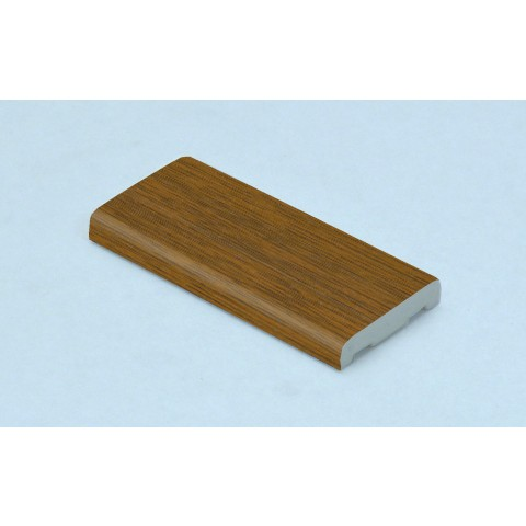 25mm D Mould Golden Oak