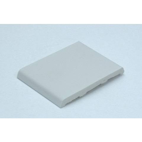 75mm x 7.5mm D Mould White