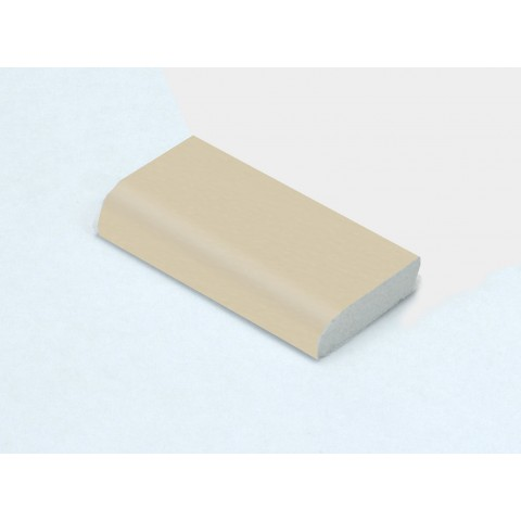 28mm x 6mm Edge Fillet Cream Woodgrain