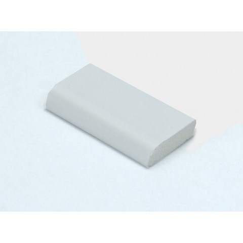 28mm x 6mm Edge Fillet White
