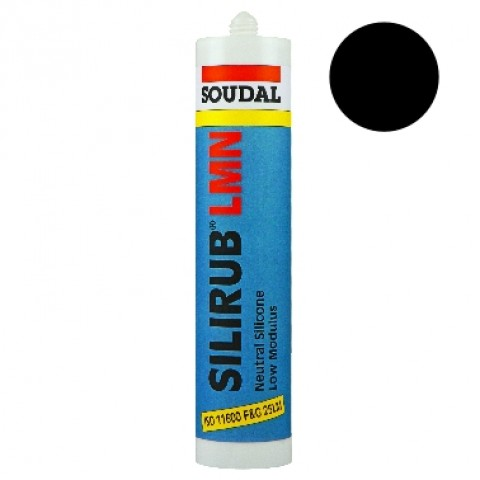 Professional Low Modulus Neutral Silicone Black