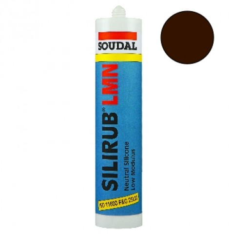 Professional Low Modulus Neutral Silicone Brown