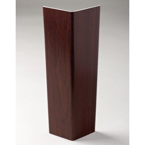 100mm x 5m Flexi Angle Trim Rosewood