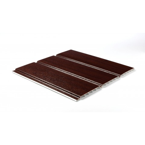 300 x 10mm x 5m Hollow Soffit Board Rosewood