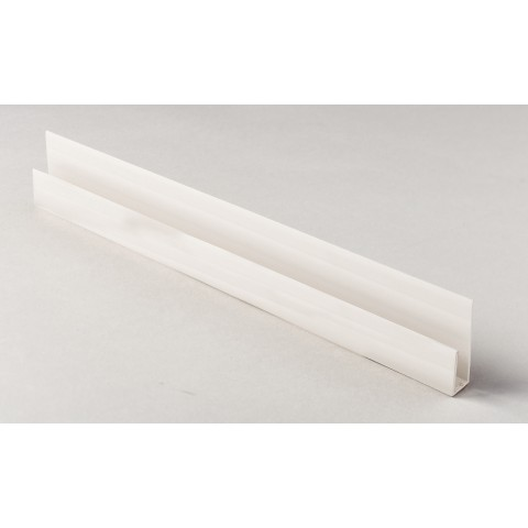 Edge Channel/Soffit Board J-Trim 5m White
