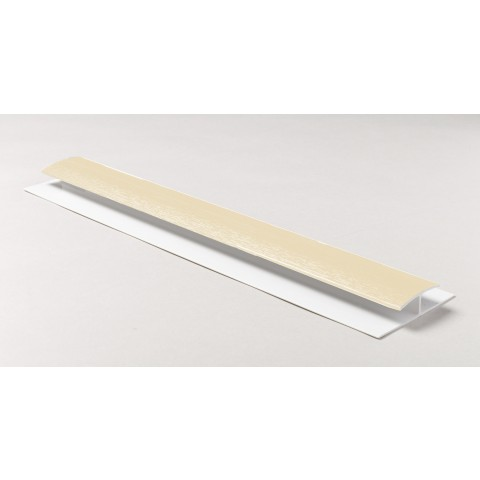 Soffit Board H Joint 5m Cream