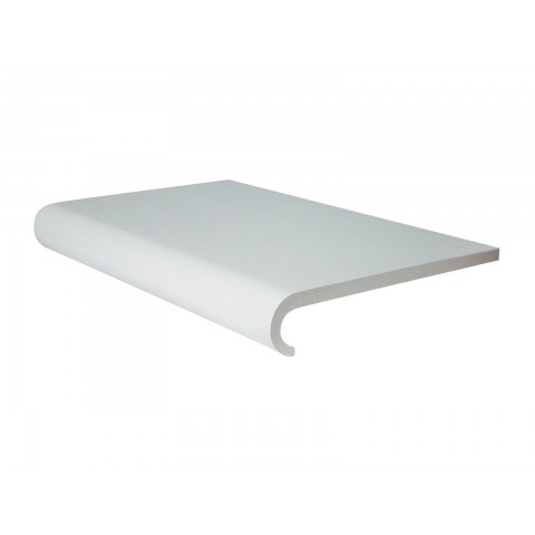 9mm Hooknose Window Board White