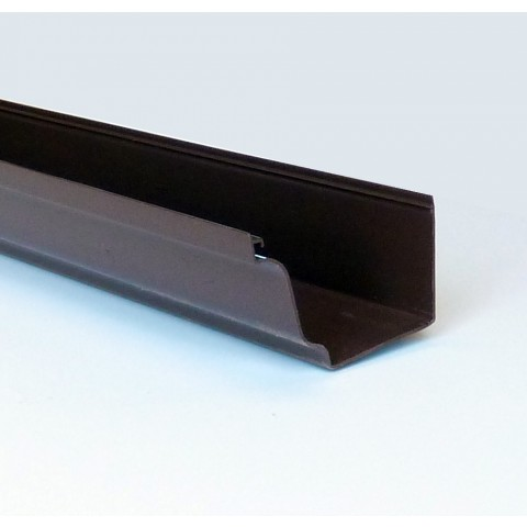 Classic Ogee Gutter 4m Length Brown