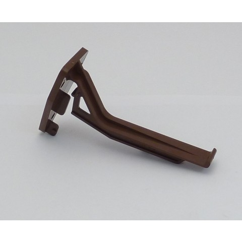 Classic Ogee Gutter Top Hung Fascia Bracket Brown