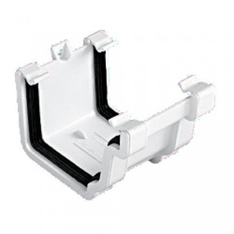 Classic Ogee Gutter Union Bracket White