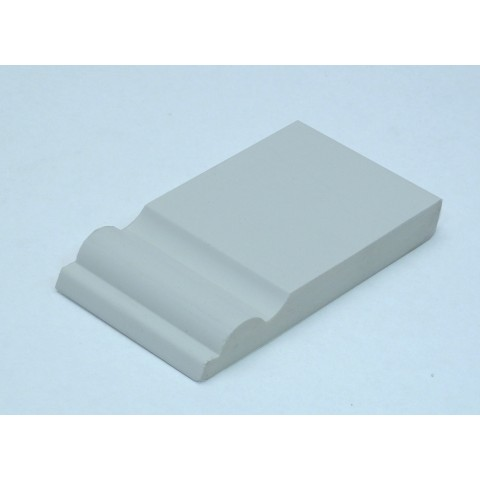 95mm x 12mm Taurus Skirting White