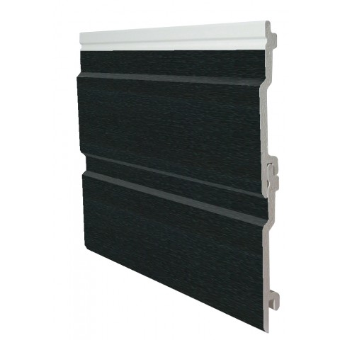 100mm x 5m Open V Cladding Black Ash