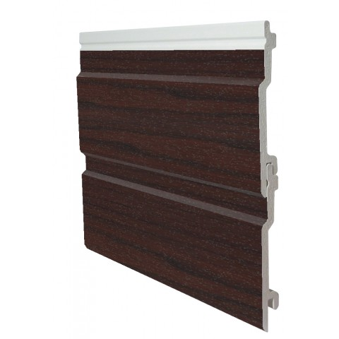 100mm x 5m Open V Cladding Rosewood