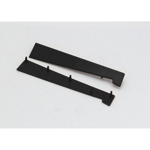 125 - 185mm Universal Window Cill End Cap Black