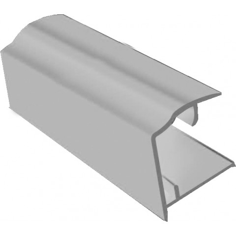 PVC Sheet Closure 2.1m x 16mm White